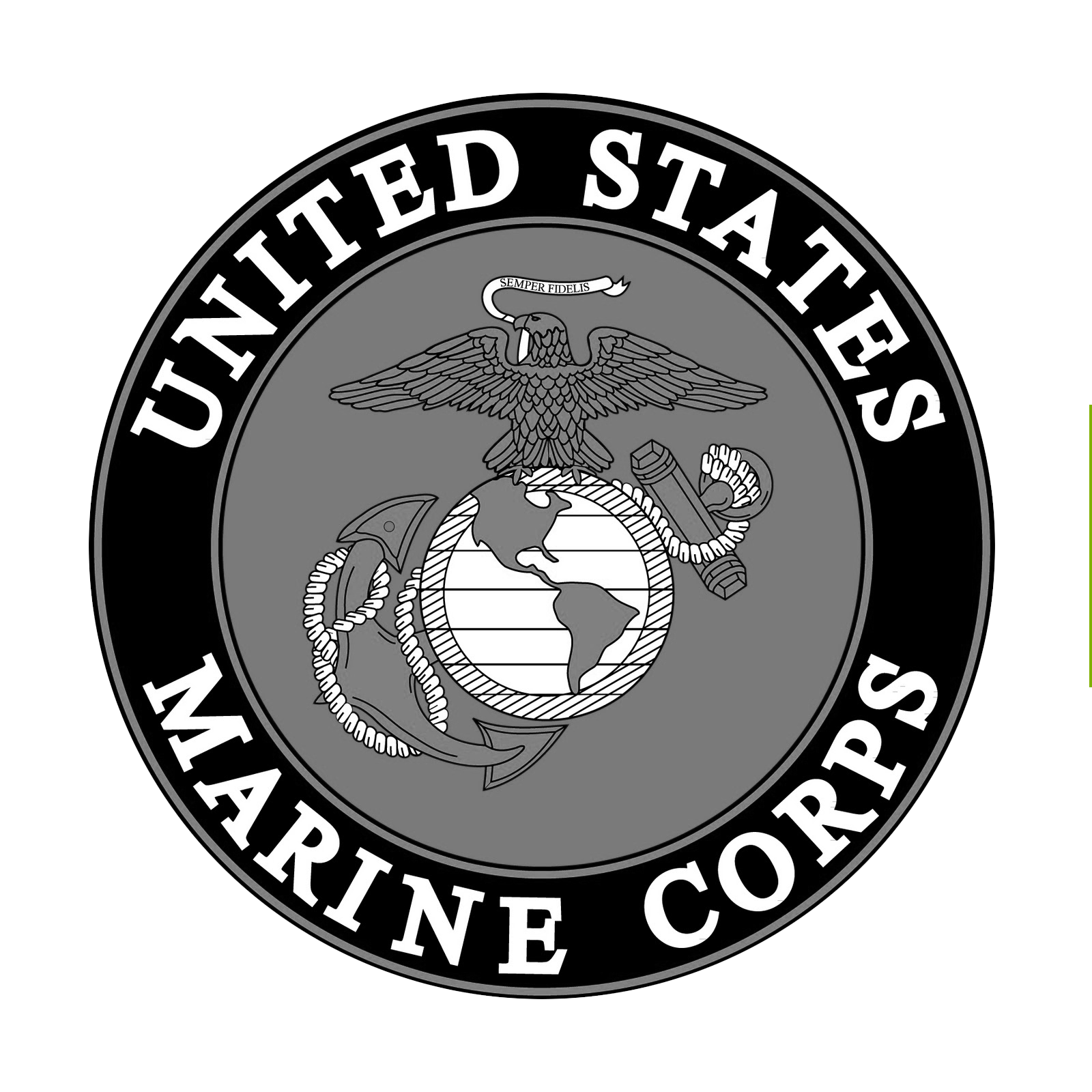 United States Marines Challenge Coin