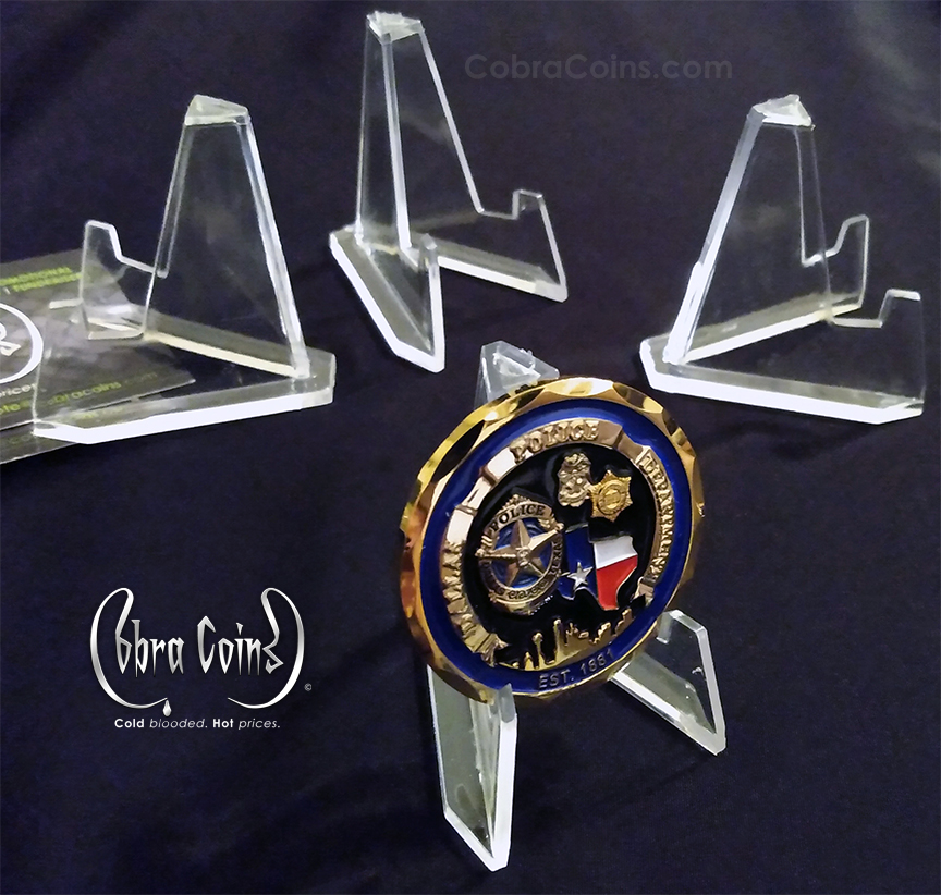 Acrylic Coin Stands Challenge Coins